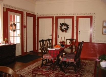 Hickory Ridge House Bed & Breakfast dining room