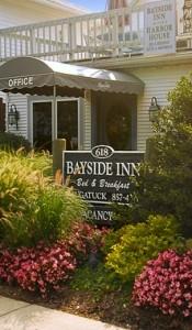 Bayside Inn balcony