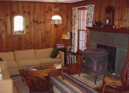 Mountain View Inn, common room