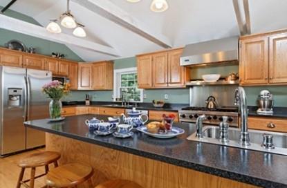 The Kennebec Inn, kitchen
