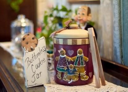 Cedar Key Bed & Breakfast, cookie jar