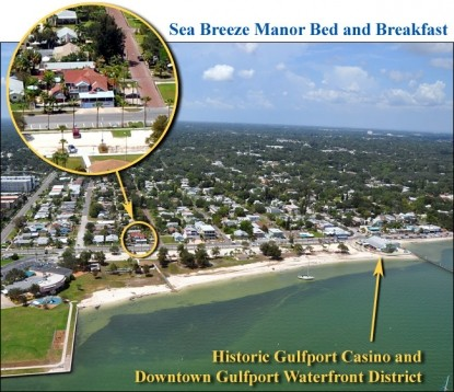 Sea Breeze Manor Bed and Breakfast Inn-Map