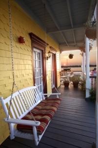 Bayfron Marin House, porch