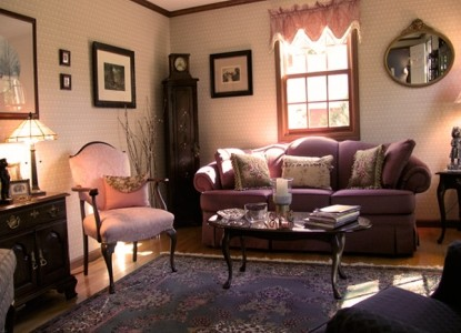 The Country Cape Bed and Breakfast living room