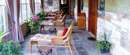 Elm Creek Manor Spa Resort, patio