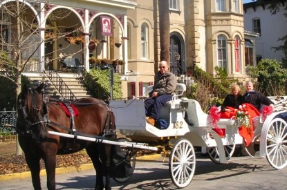 McMillan Inn carriage ride