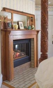White Lace Inn Bed & Breakfast fireplace