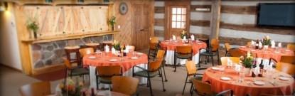 Inn & Spa At Cedar Falls dining area