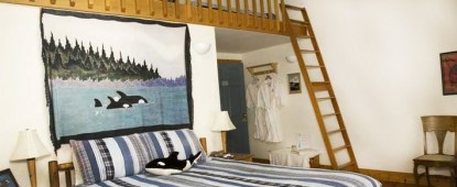 The Lost Whale Bed & Breakfast Inn Orca Whale Room