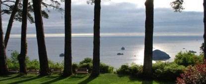 The Lost Whale Bed & Breakfast Inn view