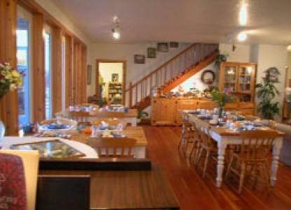 The Lost Whale Bed & Breakfast Inn breakfast room