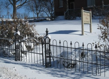 Stone-Yancey House Bed and Breakfast fence