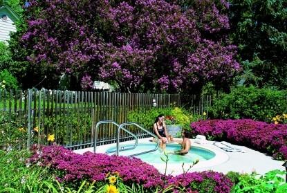MacArthur Place - Sonoma's Historic Inn & Spa jacuzzi