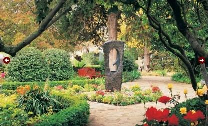 MacArthur Place - Sonoma's Historic Inn & Spa gardens