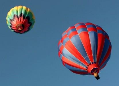MacArthur Place - Sonoma's Historic Inn & Spa hot air balloons