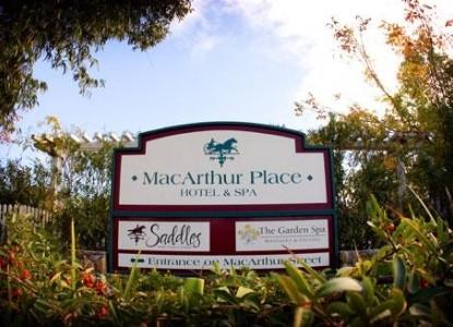 MacArthur Place - Sonoma's Historic Inn & Spa sign