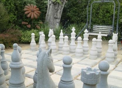 MacArthur Place - Sonoma's Historic Inn & Spa giant chess
