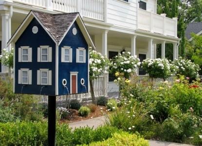 MacArthur Place - Sonoma's Historic Inn & Spa birdhouse