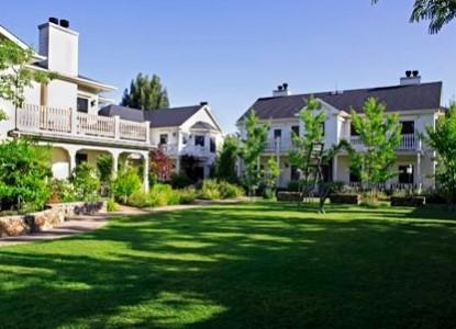 MacArthur Place - Sonoma's Historic Inn & Spa front of inn