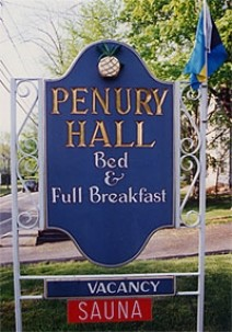 Penury Hall Bed & Breakfast, marquee