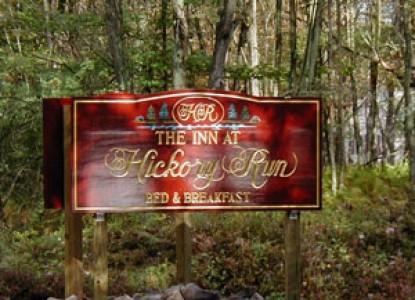 The Inn at Hickory Run, marquee