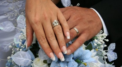 Inn at Bowman's Hill, wedding rings