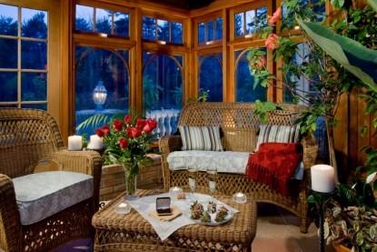Inn at Bowman's Hill, romantic setting