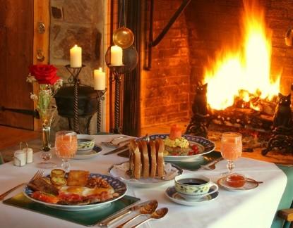 Inn at Bowman's Hill, fireplace