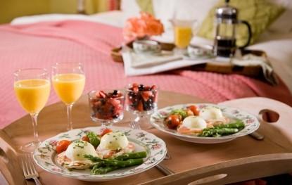 Inn at Bowman's Hill, breakfast