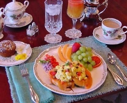 Pettigru Place Bed & Breakfast food