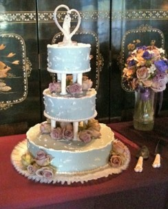 The French Manor cake