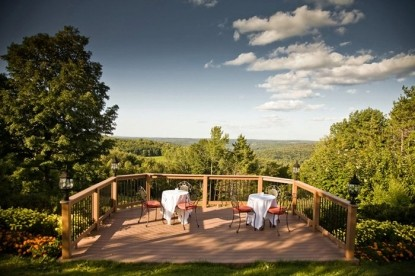 The French Manor scenic patio view