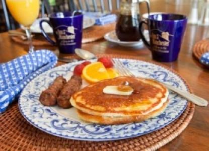 The Inn at Manchester breakfast