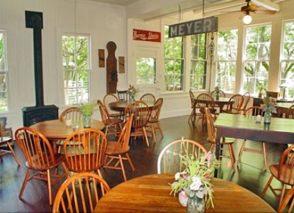 Meyer Bed and Breakfast on Cypress Creek dining room