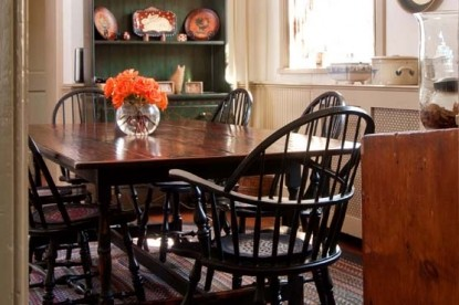 The Wayside Inn dining table