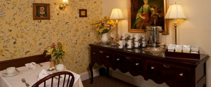 Fairville Inn Bed and Breakfast dining room