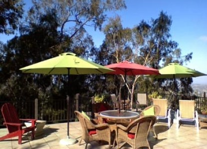 The Rainbow Inn Guest House Bed & Breakfast, patio