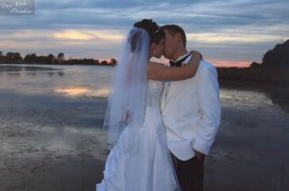 Inn at Huntingfield Creek bride and groom