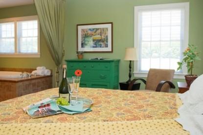 Inn at Huntingfield Creek Island cottage