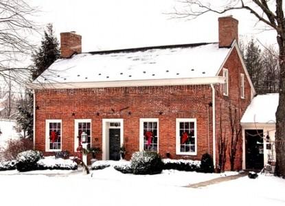 Burlington's Willis Graves Bed & Breakfast Inn snow day