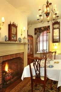 Burlington's Willis Graves Bed & Breakfast Inn fireplace