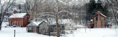 Burlington's Willis Graves Bed & Breakfast Inn snow