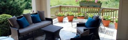 Burlington's Willis Graves Bed & Breakfast Inn couches
