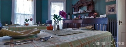 The Chadwick Bed & Breakfast, dining table