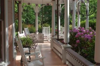 Beaufort House Inn-Porch