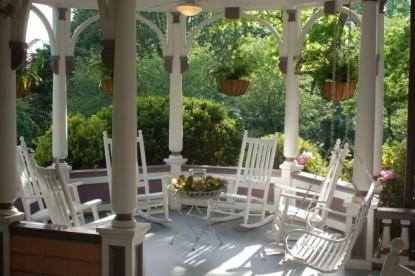 Beaufort House Inn-Outside patio