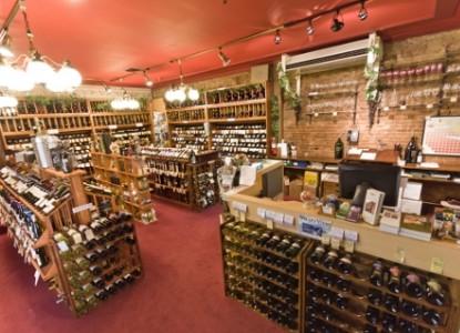 Jacksonville Inn Bed & Breakfast, wine shop