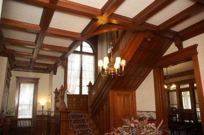 The Grand Anne Bed & Breakfast staircase