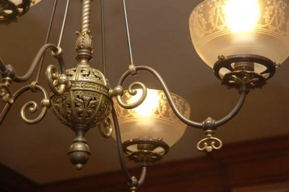 The Grand Anne Bed & Breakfast lamp