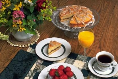 Flowers & Thyme Bed & Breakfast, breakfast